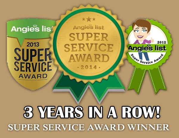 Super Service Award 3 Years Running